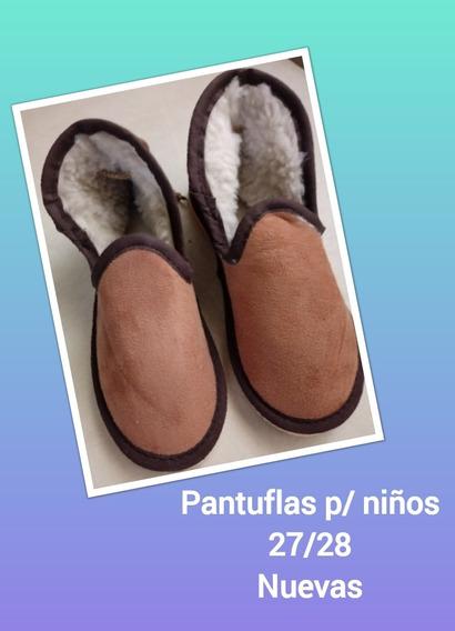 Pantuflas Botitas Abrigadas Para Niños