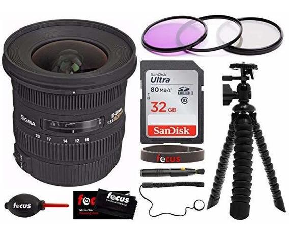 Camara Sigma 10-20mm F 4-5.6 Ex Dc Hsm Lente Canon Digita -®