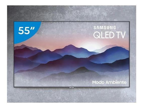 Smart Tv Qled Samsung 55 Q7f Hdr 1500 Pontos Quânticos