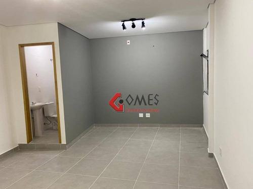 Imagem 1 de 5 de Sala Para Alugar, 25 M² Por R$ 1.200,00/mês - Rudge Ramos - São Bernardo Do Campo/sp - Sa0402