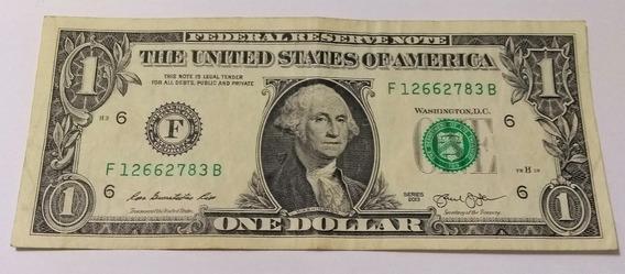 Ce001 America Cédula 1 Dólar 2009