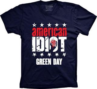 Camiseta Green Day Vários Tams. Plus Size G1 G2 G3 G4