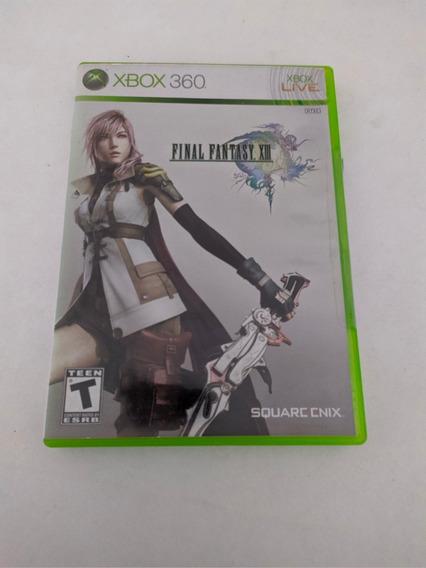 Jogo Final Fantasy Xiii Mídia Física Xbox 360