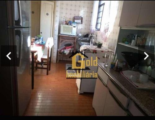 Casa Com 2 Dormitórios À Venda Por R$ 220.000 - Campos Elíseos - Ribeirão Preto/sp - Ca0799