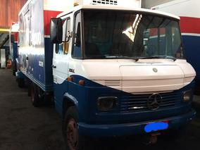 Mercedes-benz Mb 708, Baú Refrigerado, Aparelho, Único Dono