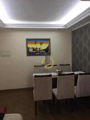 Apartamento Com 2 Dormitórios À Venda, 49 M² Por R$ 266.000 - Sacomã - São Paulo/sp - Ap0829
