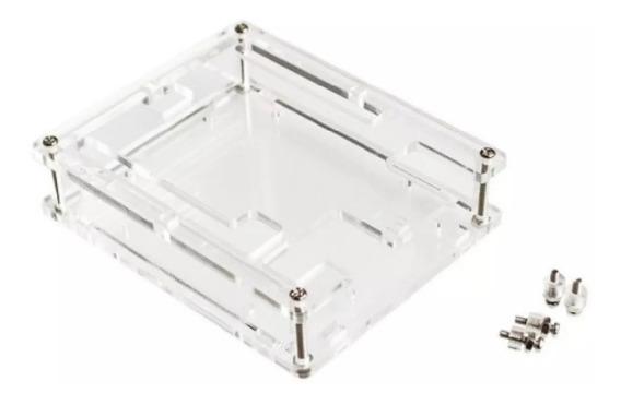 Case Para Arduino Em Acrílico Capa Super Proteção
