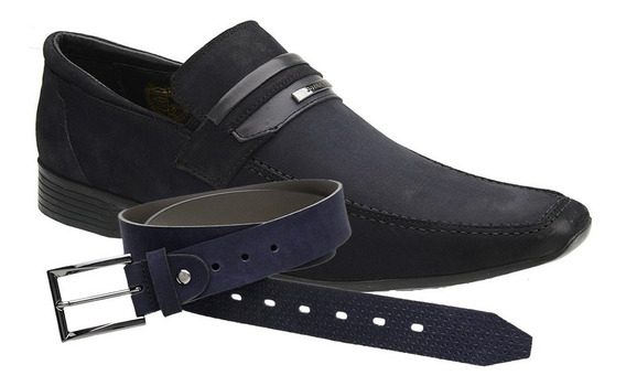 Sapato Casual Jota Pe Marinho Air Guess+ Cinto 50734