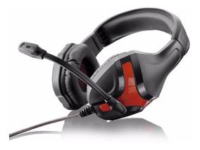 Fone De Ouvido Warrior Headset Gamer Multilaser Ph101 Preto
