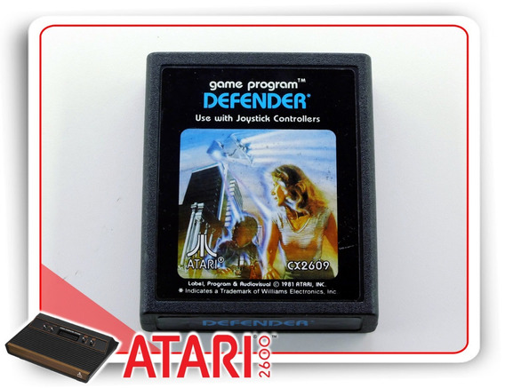 Defender Atari Cartucho Original