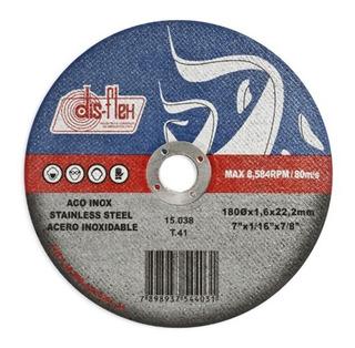 Disco Inox Disflex 7 X 7/8 15038 Kit C/10