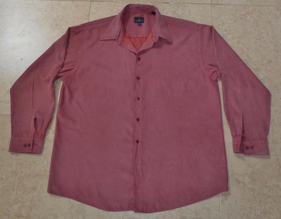 Calientita Camisa Moda Urbana Talla Xl Tela Piel De Durazno