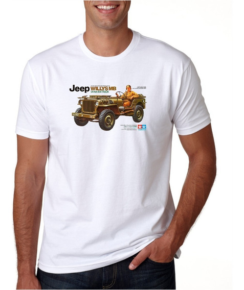 Camiseta Jeep Willys - Loucos Por Carros