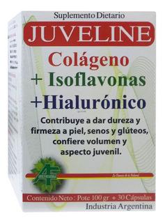 Juveline Pote 100g + 30 Cápsulas Firmeza De La Piel Colageno
