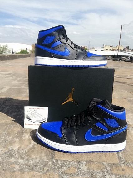 Jordan 1 Mid Royal Blue Talla 26.5 Mx