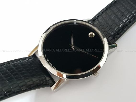 Relógio Unissex Movado 84g11852 Swiss Made Vidro Safira