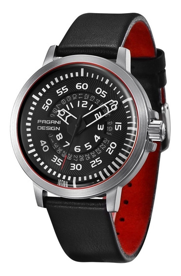 Relógio Masculino Pagani Design Luxo Clássico Prova D