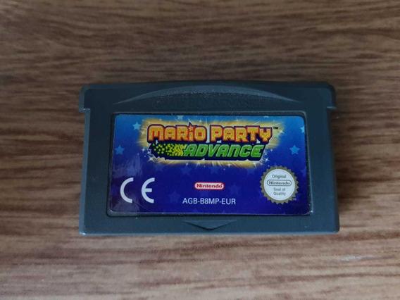 Mario Party Advance - Espanhol - Gba - Game Boy Advance