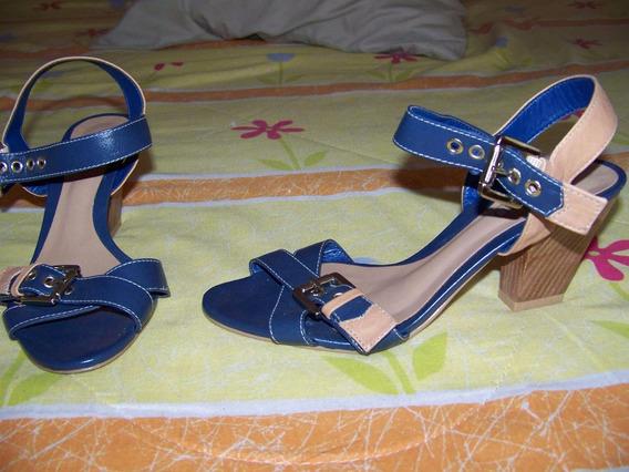 Sandália 36 Azul