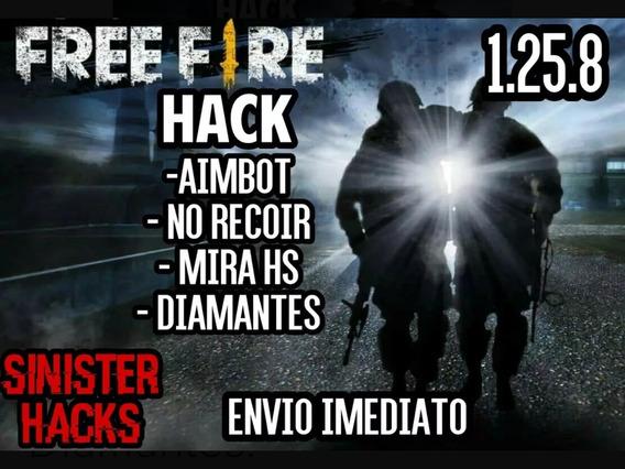 Hack Free Fire 100% Funcional Atualmente