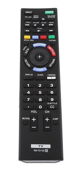 Rm-yd102 Substituição Controle Remoto Tv Para Sony Televisão