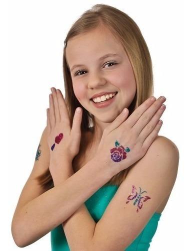 Tatuaje Set Con Glitter