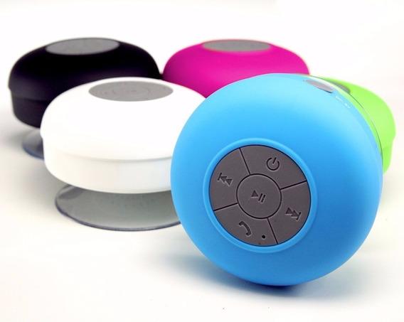 Mini Caixa Som Portatil Potente Bluetooth Ventosa