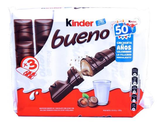 Kinder Bueno Ferrero Bolsa X 3 Unidades