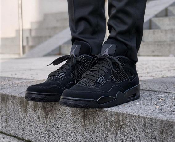 Air Jordan Retro 4 Black Cat