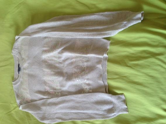 Sweater Gap Para Niñas Con Brillito
