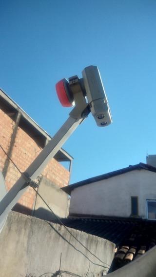 Antena Da Sky Completa Com Lnb Duplo.