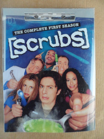 Scrubs Complete Season 1 Box Set Import 3 Dvd U.s.a Comedia