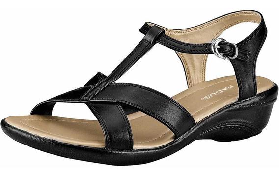 Sandalias De Mujer Negro 021-243