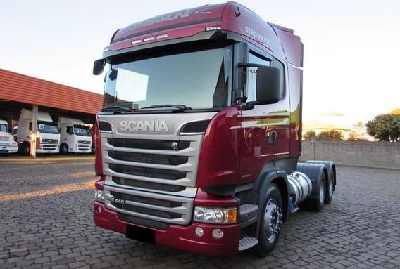 Scania R 440 2014 6x4 Streamline Impecável