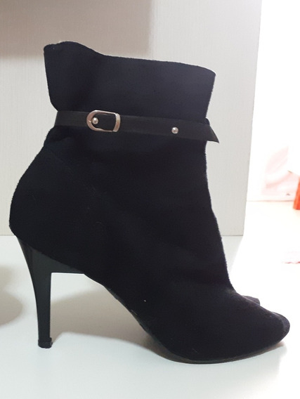 Bota Ankle Boot (open Boot)
