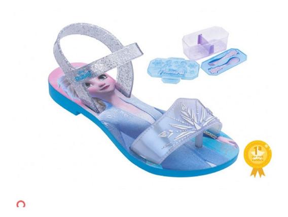 Sandalias Infantil Menina Frozen Magic Snow