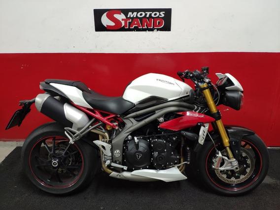 Triumph Speed Triple 1050 R 1050 R Abs 2017 Branca Branco
