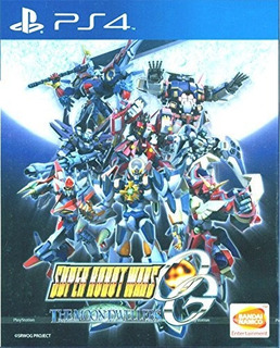 Super Robot Wars Og The Moon Dwellers Ingles Para Playstatio