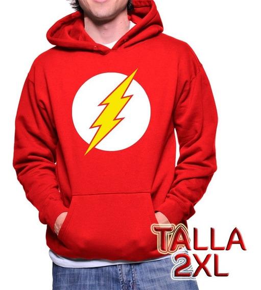 Envío Gratis Sudadera / Hoodie Flash Talla 2xl + Sticker
