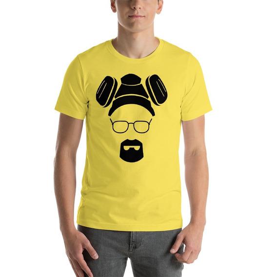 Camiseta Breaking Bad Mascara Heisenberg