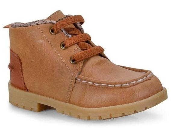 Bota Ortopé Infantil Menino Baby Boot Caramelo 2119077
