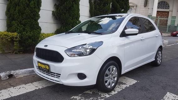 Ford Ka Hatch 1.0 Se Plus Flex Completo 2017 Branco Doc Ok