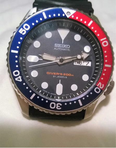 Seiko Skx009 J1 Made In Japan Scuba Diver Automatic Original