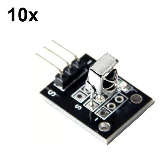 10x Módulo Sensor Receptor Infravermelho Ky-022 Para Arduino