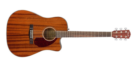 Violao Fender Dreadnought C/case 096 2705 Cd140 Sce Mahogany