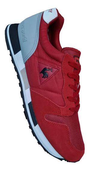 Tenis Lecoq Sportif Roja Hombre Zapatillas Originales