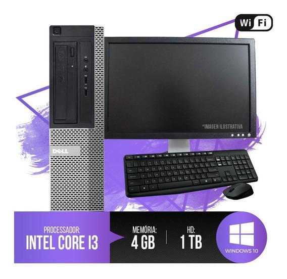 Pc Dell Optiplex Intel Core I3, 8gb Ram Ddr3, Hd 1tb