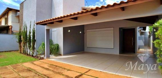 Casa 3 Quartos, Sendo 2 Suítes, 256 M² C/ Armários E Lazer Na 208 Norte - Ca0145