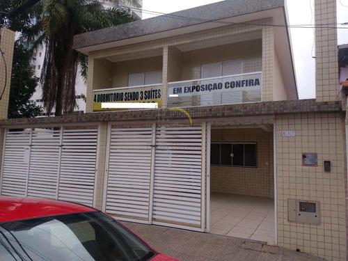 Sobrado Com 4 Dorms, Canto Do Forte, Praia Grande - R$ 620 Mil, Cod: 1559 - V1559