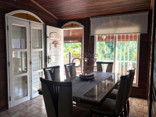 Chácara De Estilo Com 5 Dormitórios À Venda, 1000 M² Por R$ 980.000 - Terras De San Marco - Itatiba/sp - Ch0141